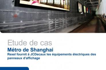 Equiper les panneaux d'affichage du métro de Shangai